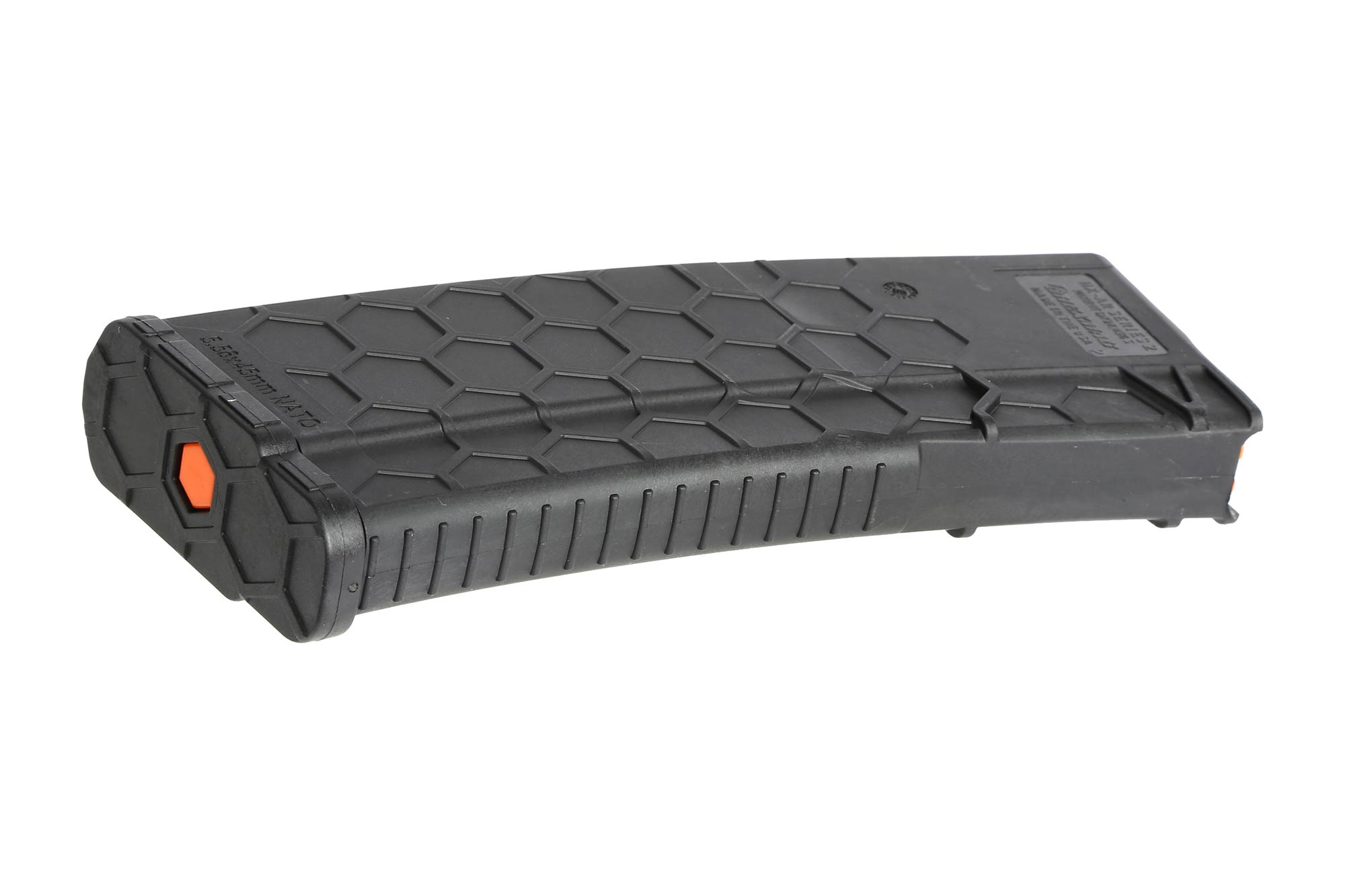 The Hexmag AR 15 magazine has a removable baseplate for cleaning and maintenance
