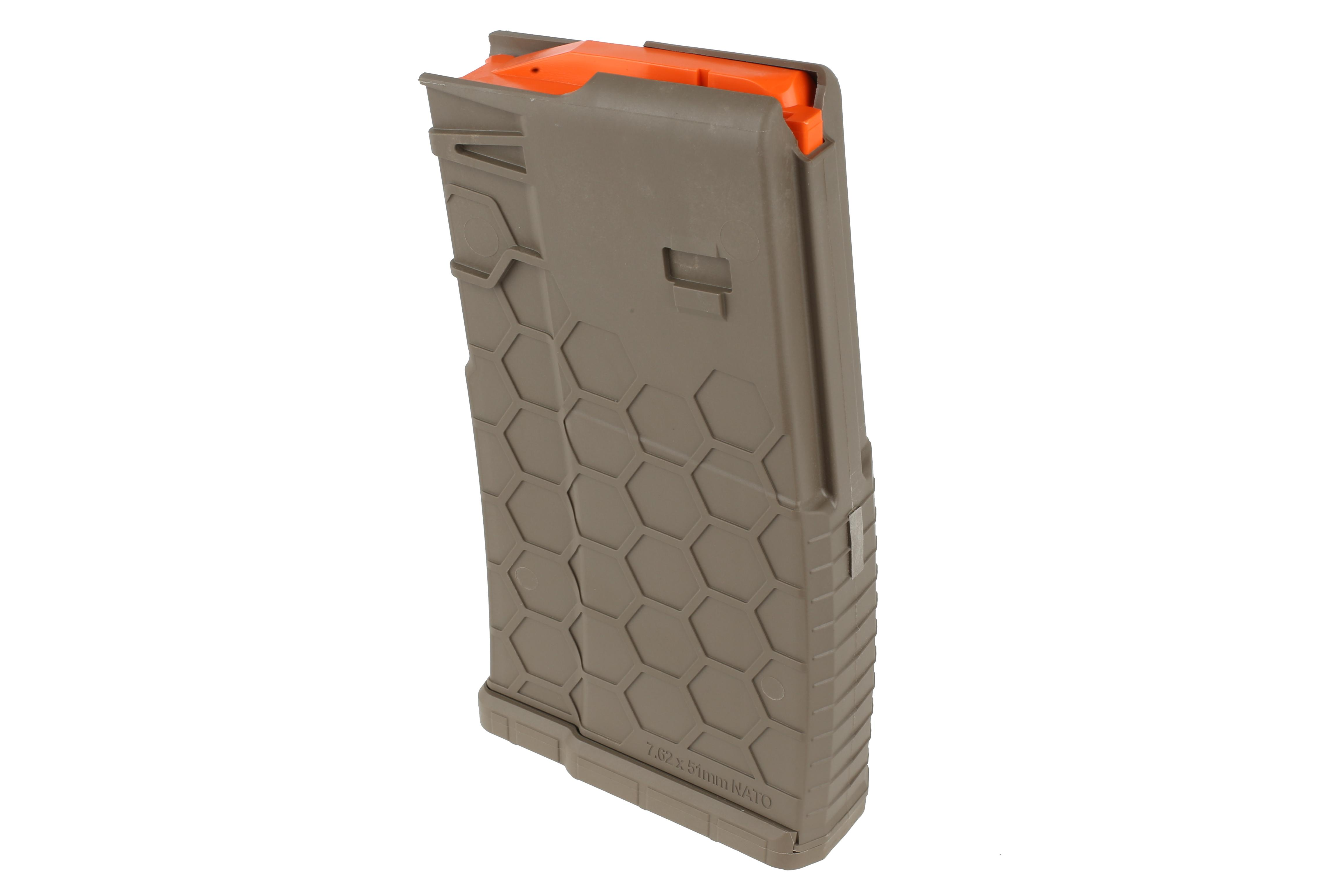 Hexmag 20-Round .308 Magazine - Series 2 - Flat Dark Earth