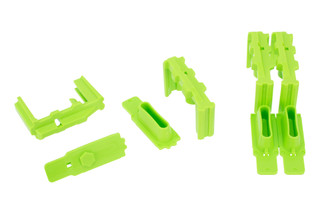 Hexmag Hexid 4 pack magazine identification kit comes in green
