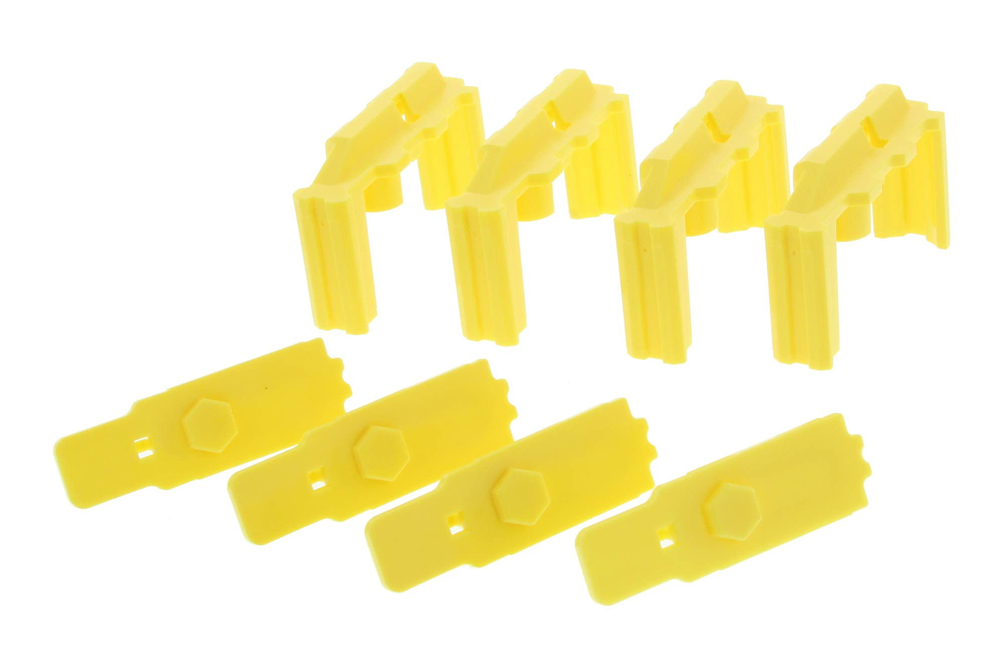 Hexmag HexID Follower Kit - 4-Pack - Hazard Yellow