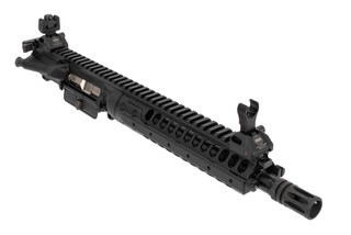 LWRC International IC-A5 5.56 NATO 10-Inch Upper features a scalloped SPR handguard
