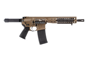 LWRC AR15 pistol is chambered in 556 with an 8.5 inch barrel