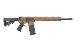 LWRC Individual Carbine AR15 features a burnt bronze finish