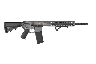 LWRC Individual Carbine features a 16 inch 5.56 barrel