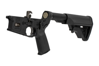 The LWRC Individual Carbine Ambidextrous Complete AR15 Lower Receiver group comes with a Nickel Boron trigger