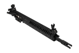 LWRC IC-SBR 5.56 14-inch Upper Receiver features a Scalloped SPR Handguard to accommodate a 2-position gas block