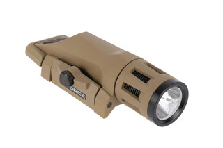 The Inforce wml gen 2 weapon mounted light provides 400 lumens for up to 1.5 hours