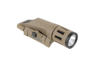 The Inforce WML Gen 2 white/ir light comes in a flat dark earth polymer shell that is waterproof.