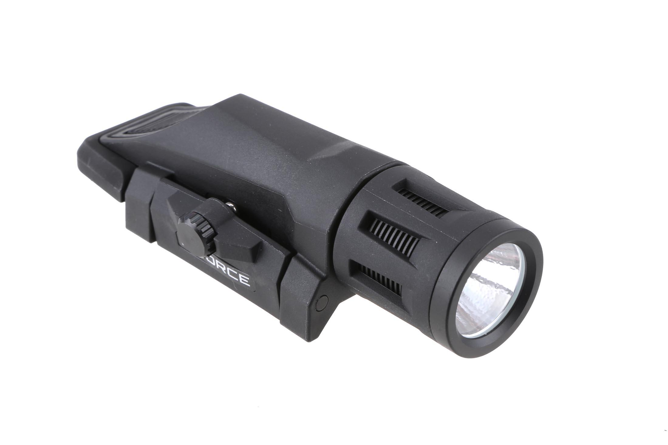 The Inforce WML is a lightweight and durable polymer weapon mounted light
