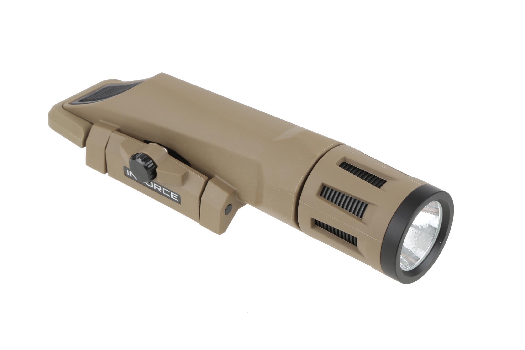 Inforce WMLx Gen 2 Weapon Mounted Light - 800 Lumens - FDE
