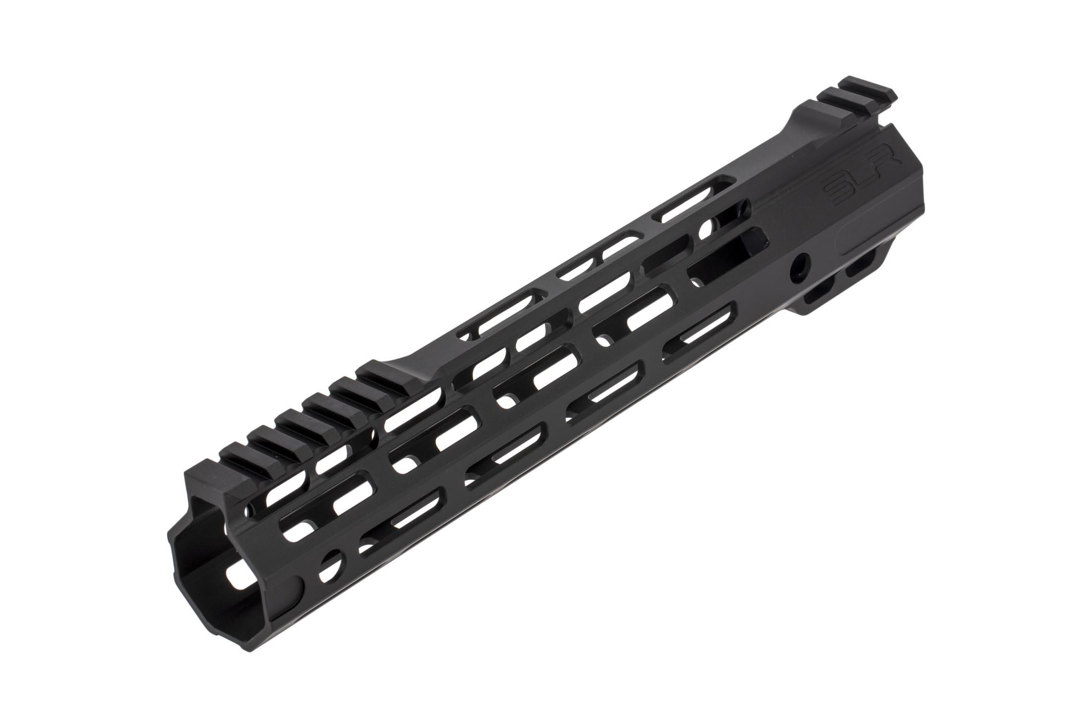 The SLR Rifleworks Ion Ultra Lite free float handguard has 7 sides of M-LOK attachment slots