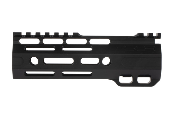 The SLR Ion Ultra Light M-LOK handguard has 4 quick detach sling swivel slots