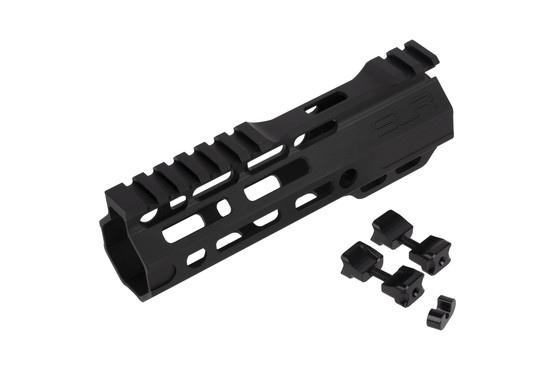 The SLR Rifleworks Ion Ultra Lite AR15 handguard comes with all the required mounting hardware