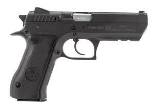 IWI Jericho 941 9mm pistol features an all steel slide and frame