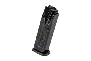 The Beretta PX4 factory magazine holds 10 rounds of 9mm ammunition