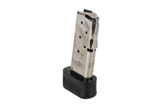 The Beretta Nano Magazine holds 9 rounds of 9mm ammo