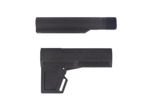 KAK Shockwave 2.0 pistol arm stabilizer with buffer tube and black finish is a fantastic and lightweight pistol brace