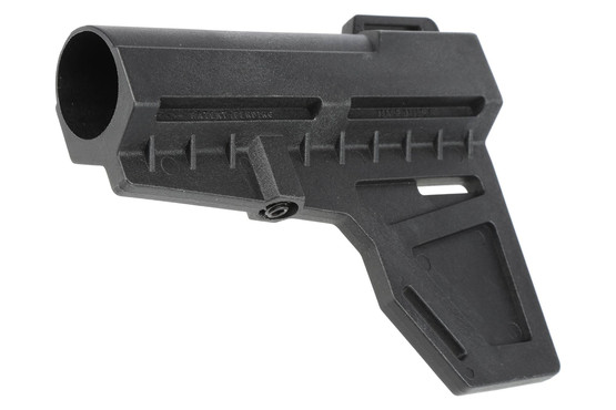 The shockwave technologies pistol blade stabilizer for ar15 pistols is made from high strength polymer