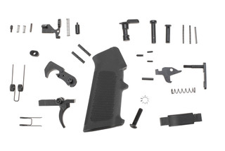 KE Arms GI AR15 lower parts kit includes mil-spec trigger and pistol grip