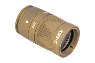 SureFire KM2 Scout Light Head in Tan is designed for M600V scout bodies