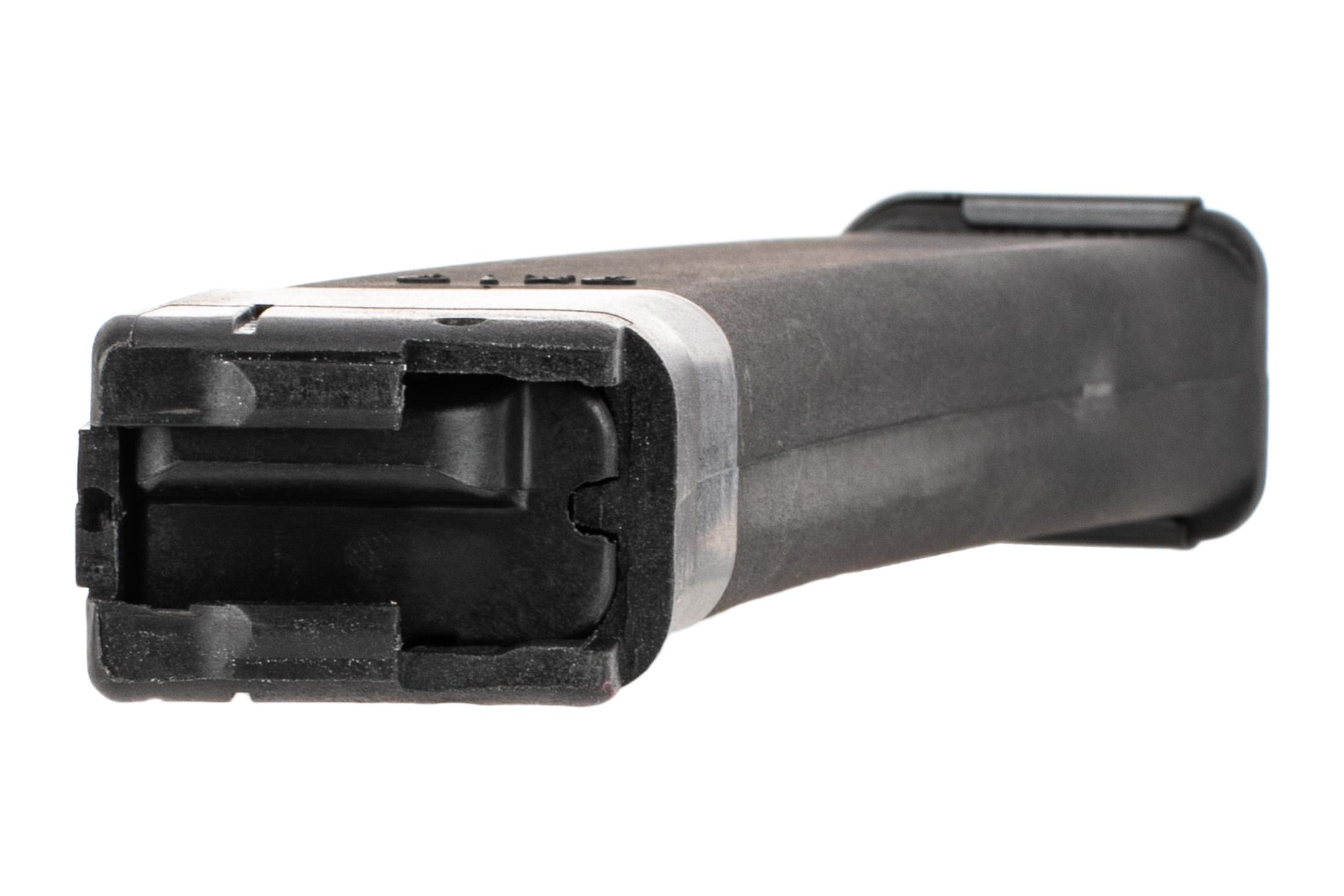 Kalashnikov USA 9mm polymer magazine for the KR9 holds 10-rounds of your favorite ammo