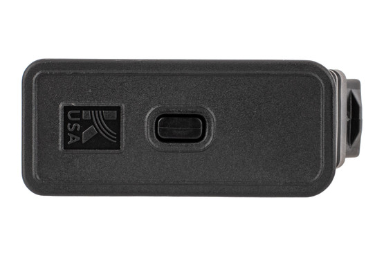 Kalashnikov USA 12 gauge 5 round magazine for the KS12 features an easy to disassemble base plate.