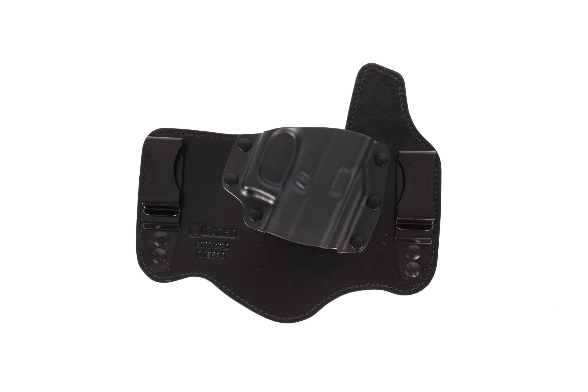 Galco KingTuk Hybrid IWB Holster - GLOCK 17/19/26 - Right Hand - Kydex and  Leather - Black