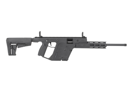 "Kriss 16"" Vector Carbine in .22 LR includes flip up sights and collapsible stock"