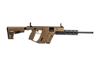"Kriss Vector 16"" rifle chambered for .22 LR with flat dark earth finish and 10-round magazines"
