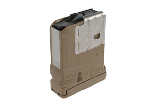 The Lancer Systems L7AWM 10 round magazine is designed for .308 AR-10 rifles