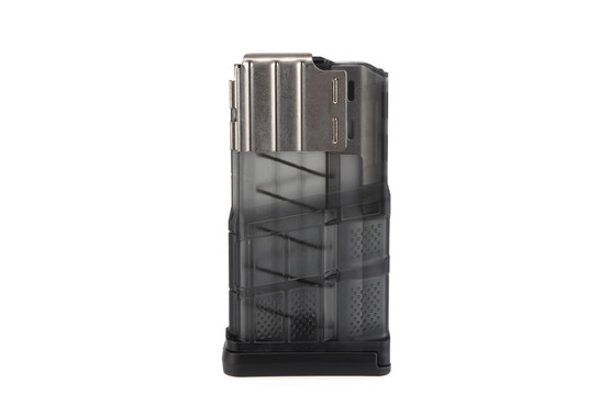 The Lancer L7AWM magazine features steel feed lips