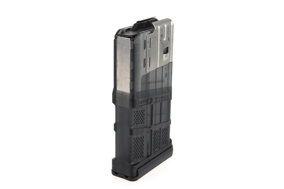The Lancer 7.62 AWM magazine has a straight internal geometry
