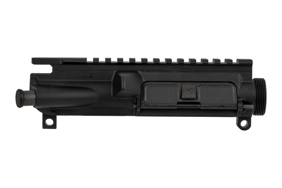 The Lewis Machine & Tool AR15 upper receiver is forged from 7075-T6 aluminum