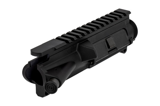The LMT AR15 upper receiver features a t-marked picatinny rail