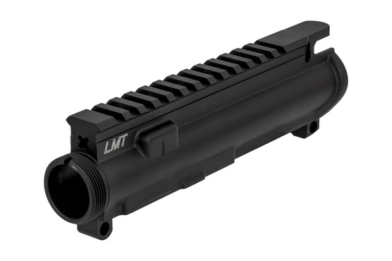 The Lewis Machine and Tool upper receiver is designed for use with barrels with M5 extensions