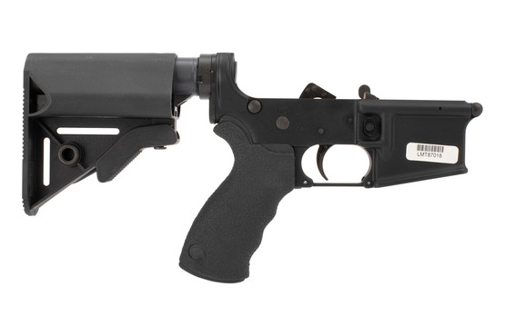 Lewis Machine & Tool Defender PDW AR15 complete Lower receiver is built to Mil-Spec