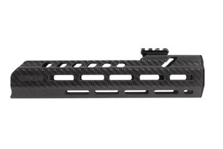 Lancer Systems SIG MCX Carbon Fiber Handguard 10.5 features a top picatinny rail