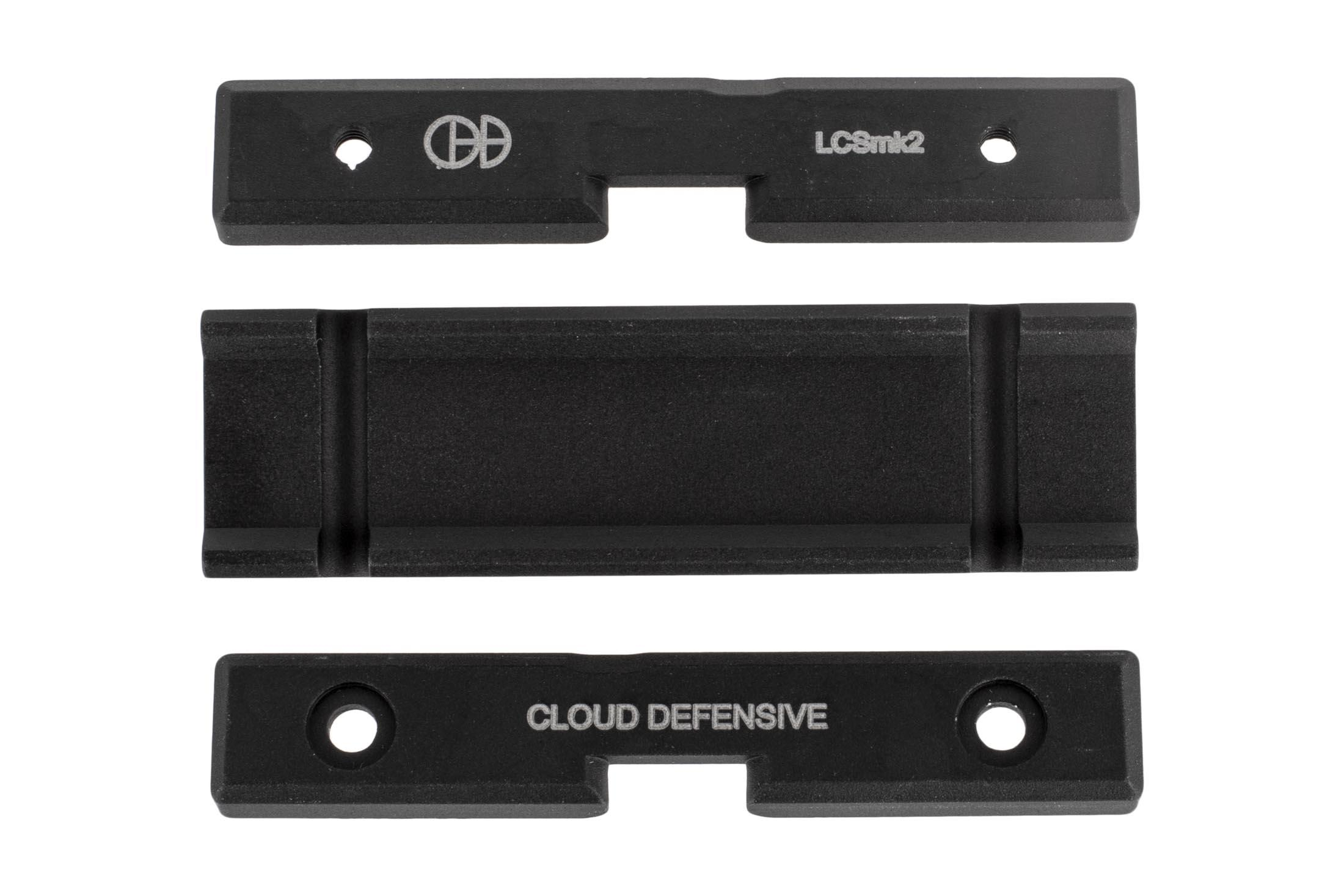 Cloud Defensive LCS Streamlight Pro-Tac Tape Switch Picatinny Mount with durable aluminum machining and black anodized finish.