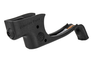 Crimson Trace Ruger LCP Laserguard features a red laser sight