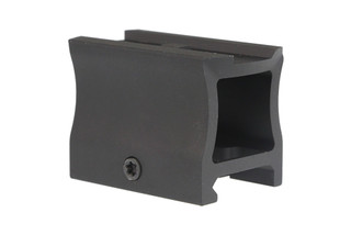 The Primary Arms lower 1/3rd co-witness red dot riser mount is made from aluminum