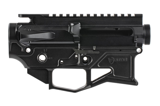 The Fortis License Billet AR-15 Receiver Set features fully ambidextrous controls
