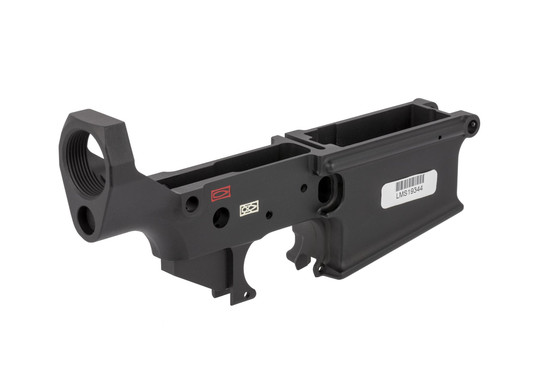 Lewis Machine Tool MWS large frame stripped AR-10 receiver accepts standard trigger guards, receviver extensions
