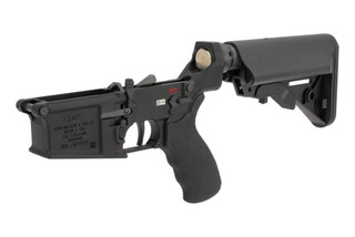 Lewis Machine and Tool complete 308 lower receiver features fully ambidextrous controls
