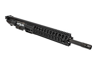 Lewis Machine and Tool CQBMWS complete 308 upper receiver features a monolithic quad rail handguard
