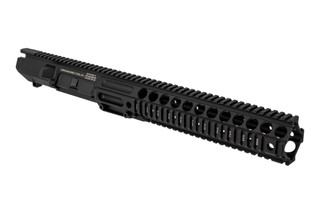 The Lewis Machine and Tool CQB MWS 308 upper receiver assembly features a monolithic quad rail handguard