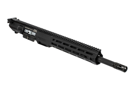 Lewis Machine and Tool complete 308 upper receiver features a monolithic design with quick change barrel