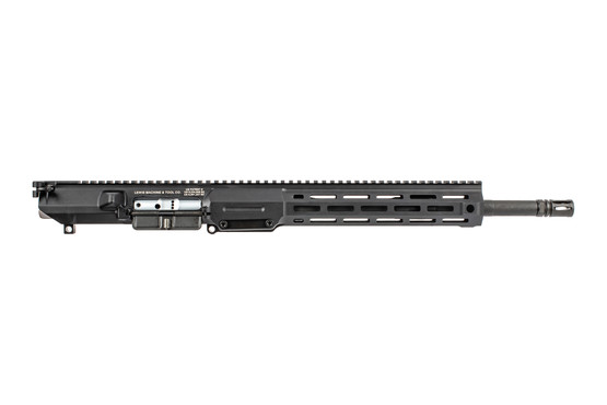 Lewis Machine & Tool AR10 complete upper receiver features a 16 inch chrome lined barrel