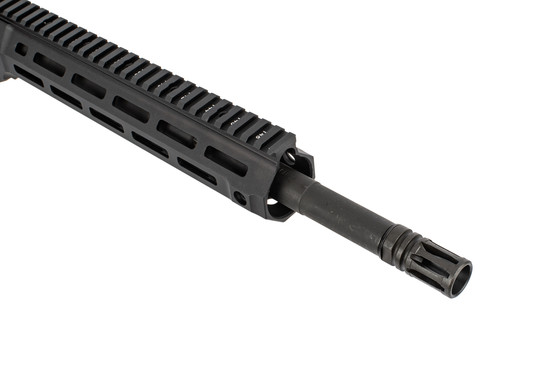 LMT MLK MWS 308 complete upper receiver group features M-LOK attachment slots and an A2 flash hider