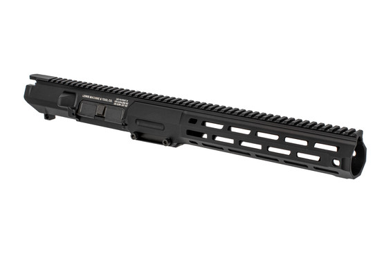 The Lewis Machine and Tool CQB MWS 308 upper receiver assembly features a monolithic M-LOK rail handguard