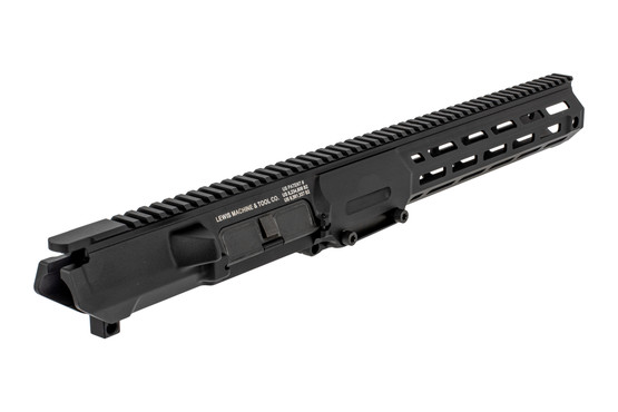 The LMT CQB MWS M-LOK .308 upper receiver assembly comes with dust cover installed